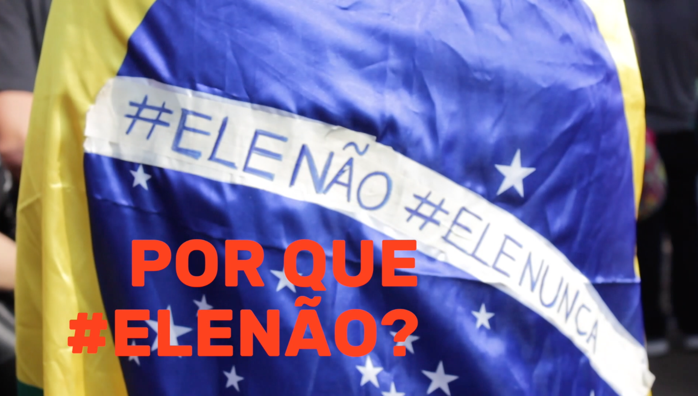 #ELENÃO em São Paulo